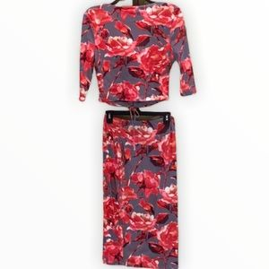 Joe & Elle Two-piece skirt and top NWOT